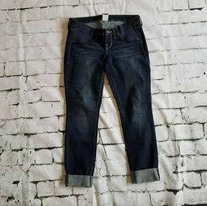 Old Navy Maternity, Side Panel, Skinny Jeans, Sz 2